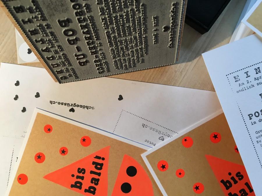 eröffnung postkarten-shop