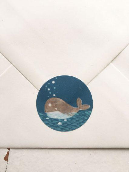 Sticker - Walfisch