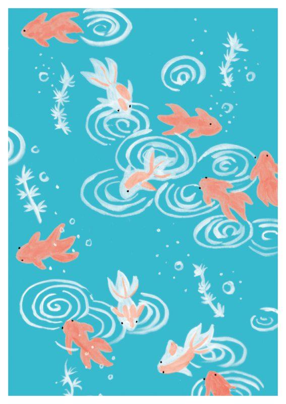 Jahreszeiten - Goldfische