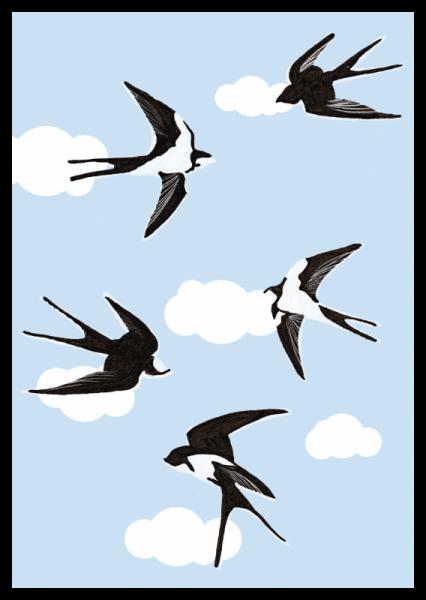 Spring-Schwalben