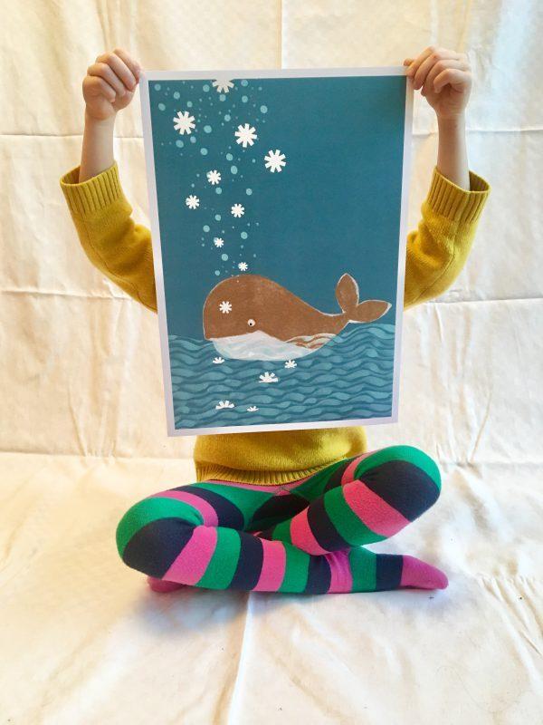 Poster - Walfisch