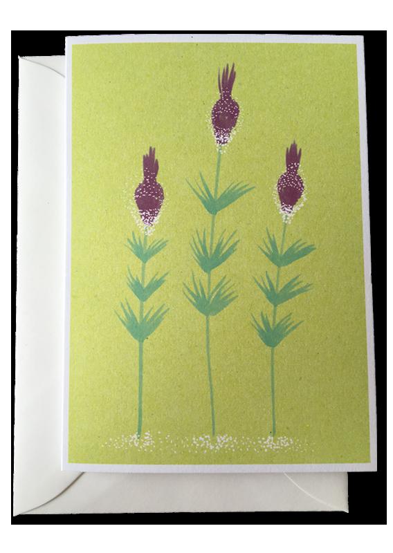doppelkarten - Blumen