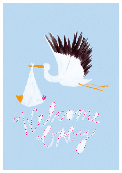 happy - welcome - baby