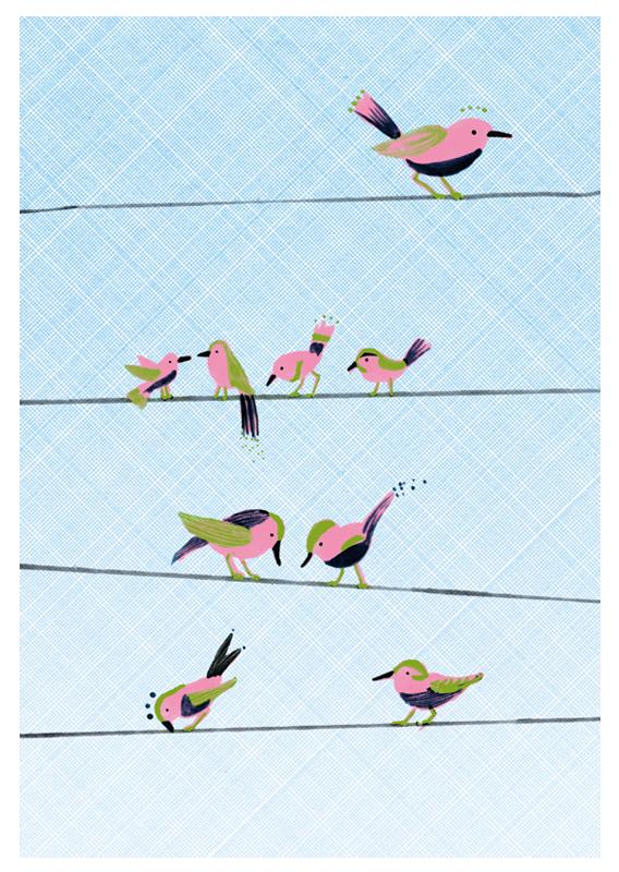 spring - voegel